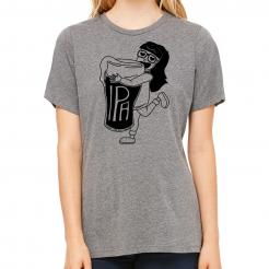 IPA Girl Missy Triblend Graphic Tee