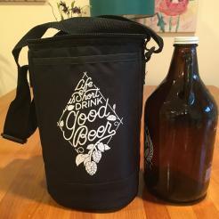 Life is Short Drink Good Beer Growler Cooler