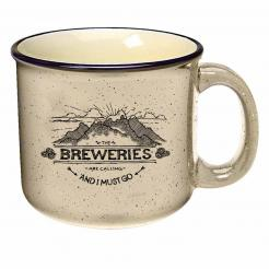 The Breweries are Calling and I Must Go - Speckled Almond Campfire Mug