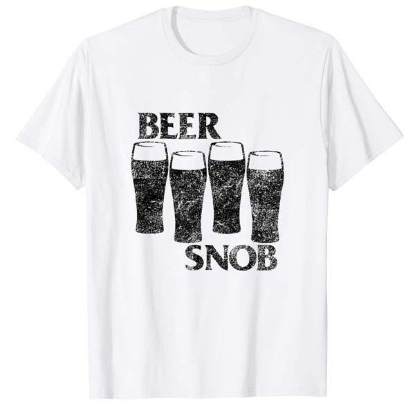 Beer Snob Punk Rock Day Drinking Shirt