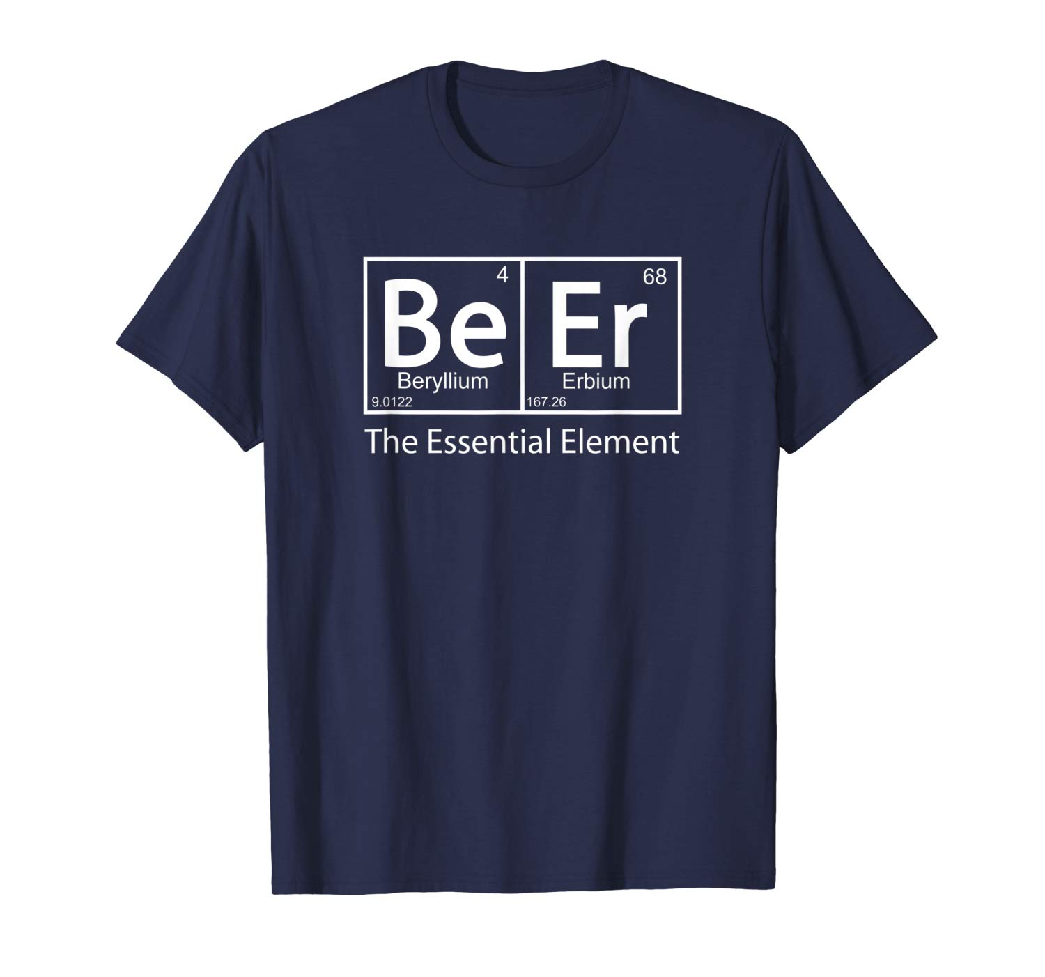 Beer The Essential Element - the original BrewerShirts classic homebrewing beer geek T-Shirt